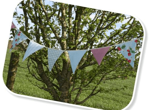 HUNTED Wedding Decor Bunting Theweddinghunter