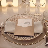 Glass Beaded Charger Plates - Wedding Lounge