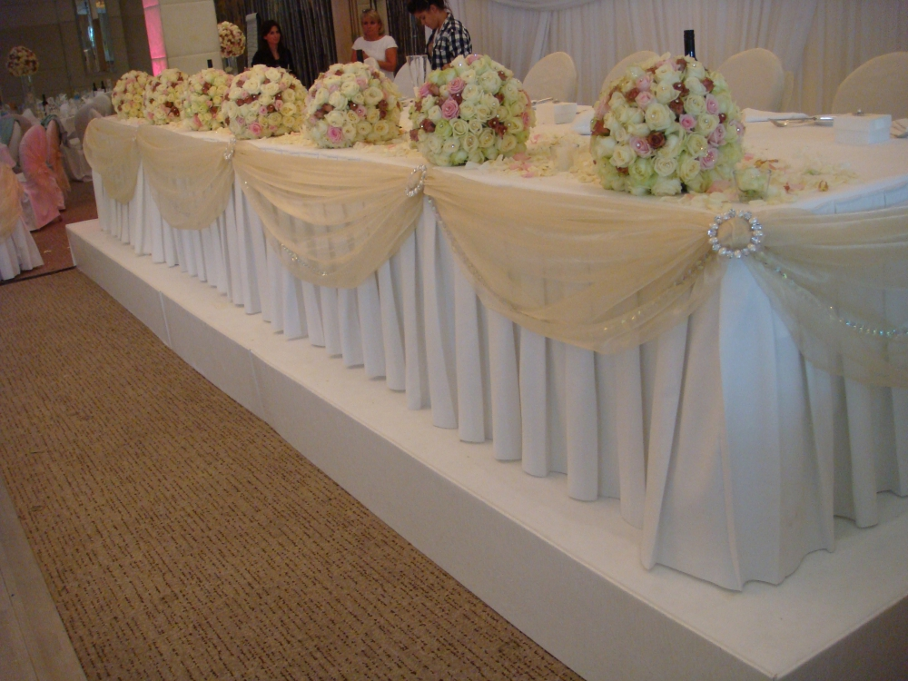 Stage carpet cover  Wedding Lounge