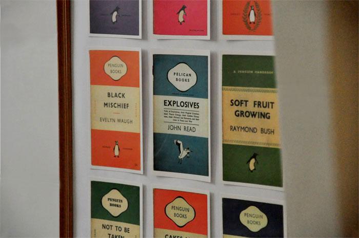 penguin book postcards