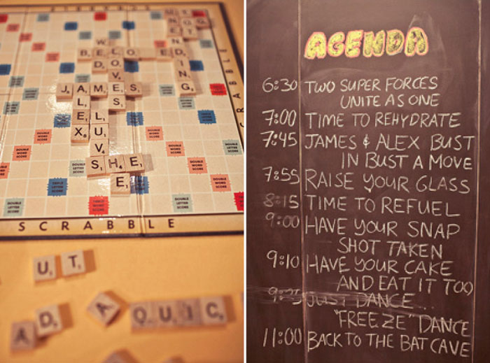 Scrabble. Jagger Photography. www.theweddingnotebook.com
