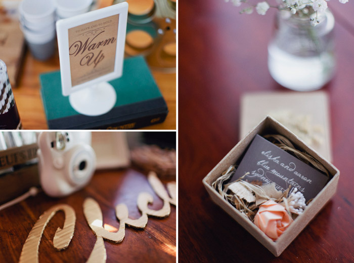 www.theweddingnotebook.com. Photography by Sayher Heffernan. Save the date and other wedding details