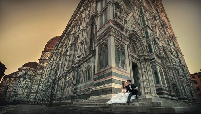 Photography by Kennfoo Weddings. Bridal portraits in Italy - Rome, Florence, Siena