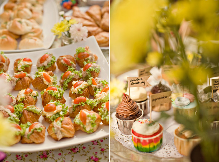 www.theweddingnotebook. Photography by ZA Gallery. Breakfast at the Park
