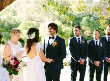 A Bright Bohemian Winery Wedding - The Wedding Playbook