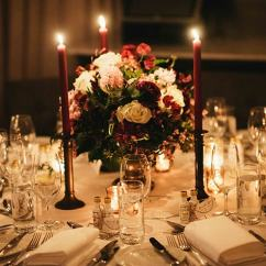 Pull Out Chairs Cheap Chiavari Lea & Jeremy's Elegant Candlelit Burgundy Wedding