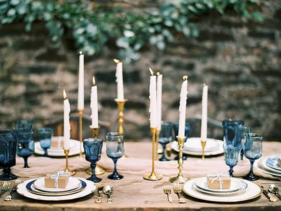 Elegant Navy And Champagne Wedding Inspiration The Wedding Playbook