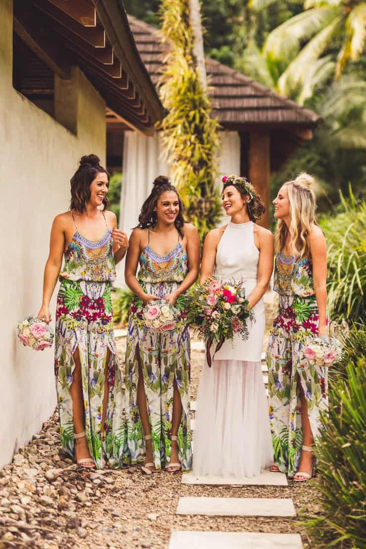 Sinead  Chris Chic Tropical Wedding