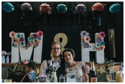3D Letters & Photobooth Backdrop by The Wedding Spark - Photography by Bai & Elle Photography