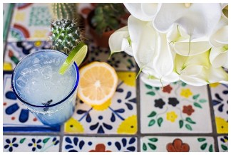Blue and Yellow Authentic Mexican Styled Shoot | Hand crafted backdrop and styling by The Wedding Spark | Photography by Frances Carlisle