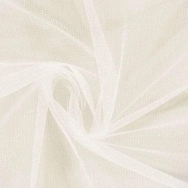 Ivory Shimmer tulle