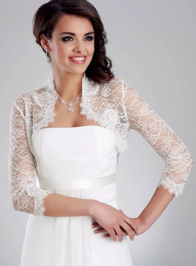 BB151 bridal bolero