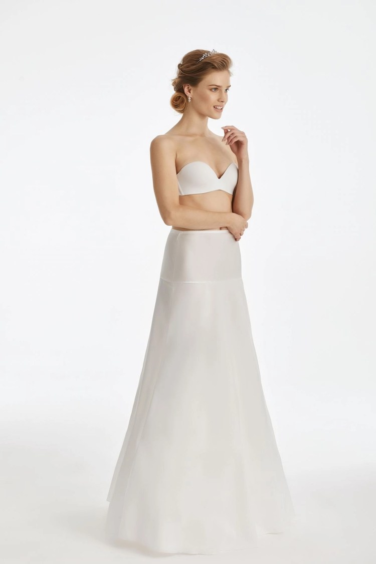 A-line bridal underskirt with no hoops