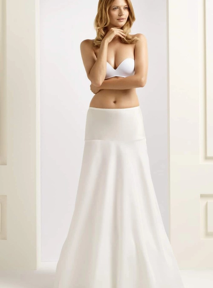 H9-190 BP9-190 A line bridal underskirt petticoat (1)