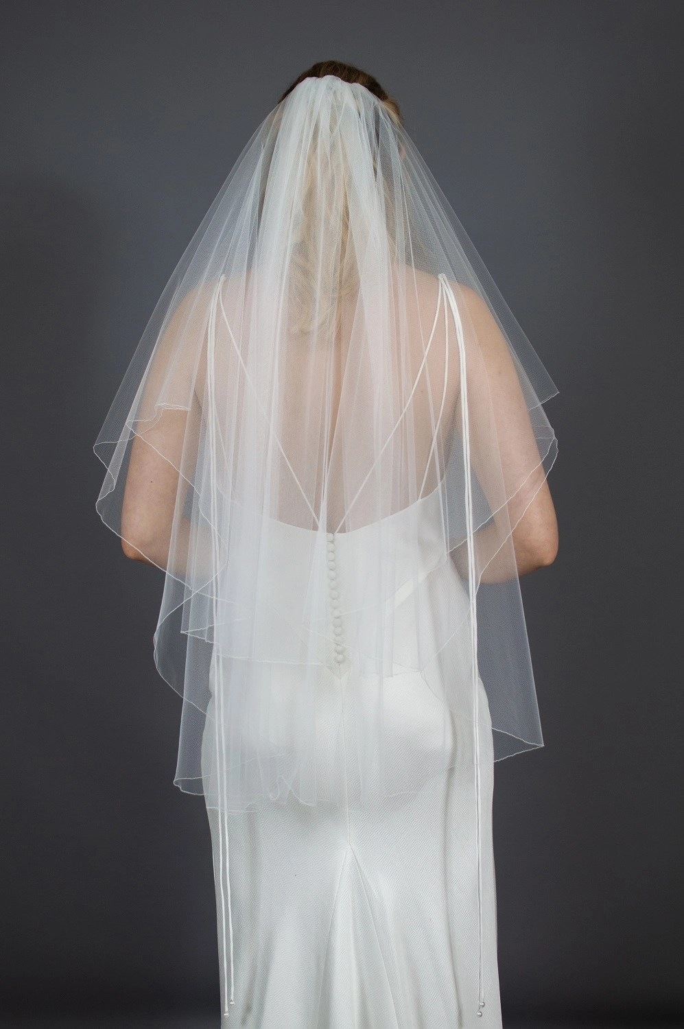 Wedding veil widths short two layer 72 inches wide