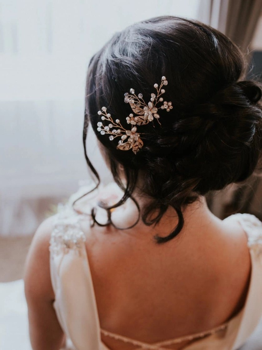 HP2935 bridal hair pin