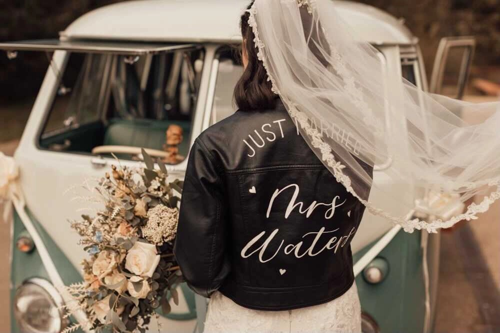 Real bride Annie in our Zoe veil 5