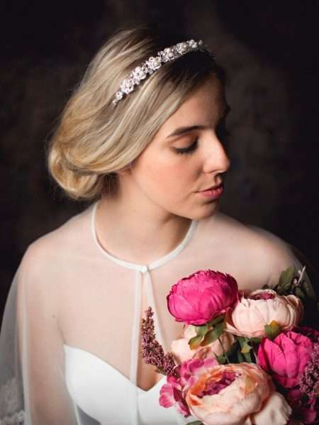 Alice – classic pearl, crystal & diamante bridal headband