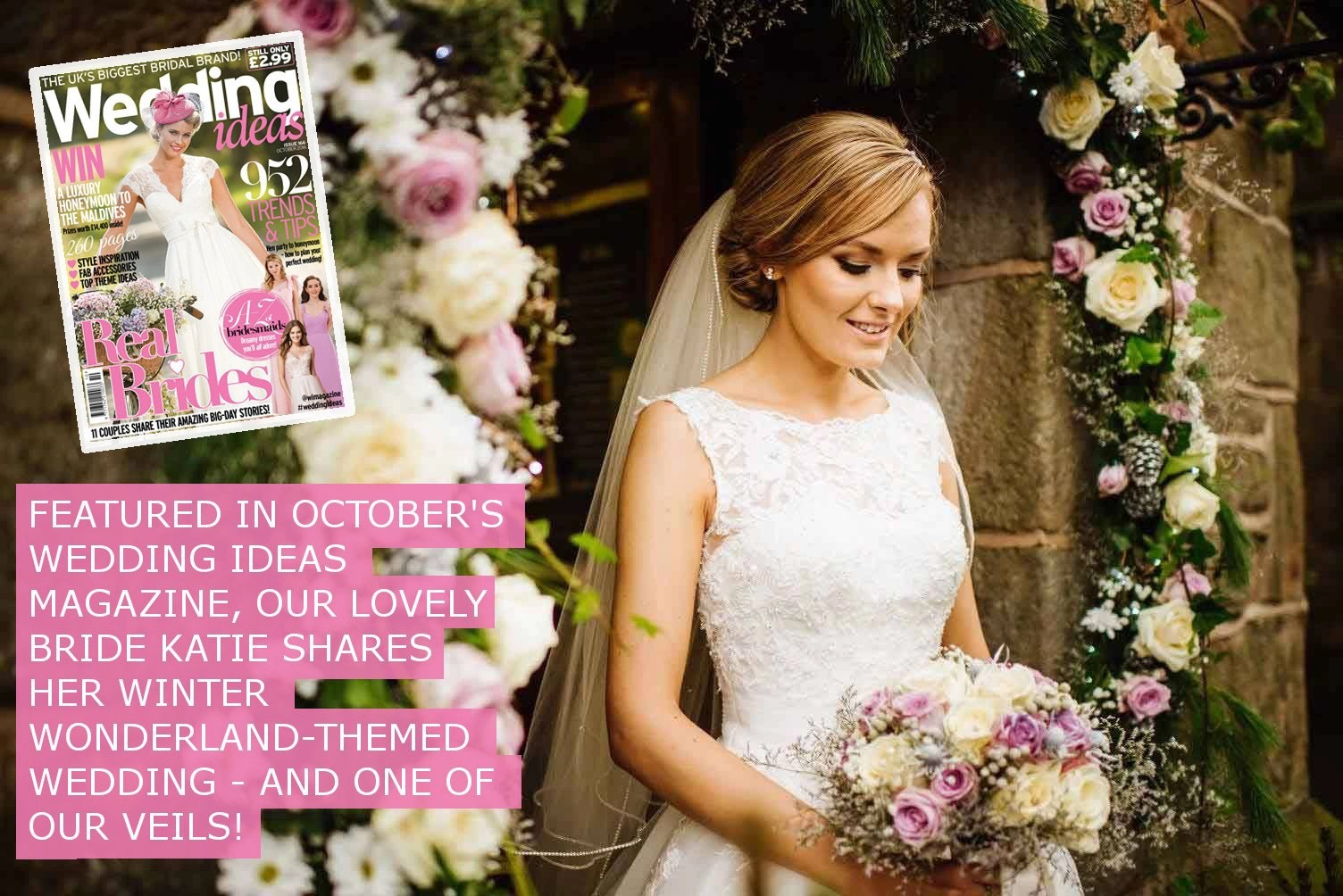 WEDDING IDEAS FEATURE - KATIE HAYDOCK