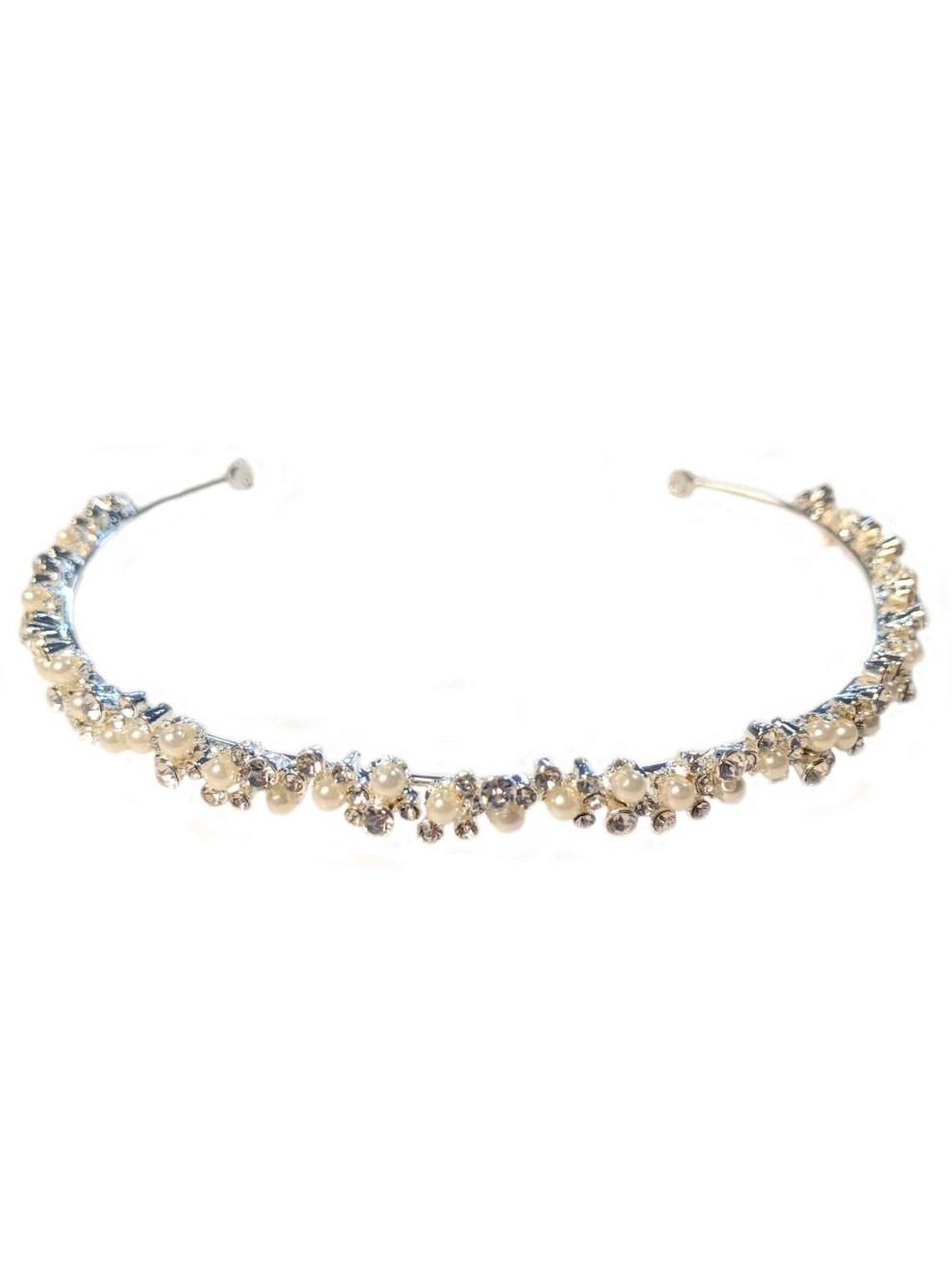 lt656 wedding hair accessories headband with pearls