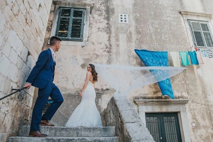 Holly in Brooke Veil in Croatia photos by Tom Kriste 7