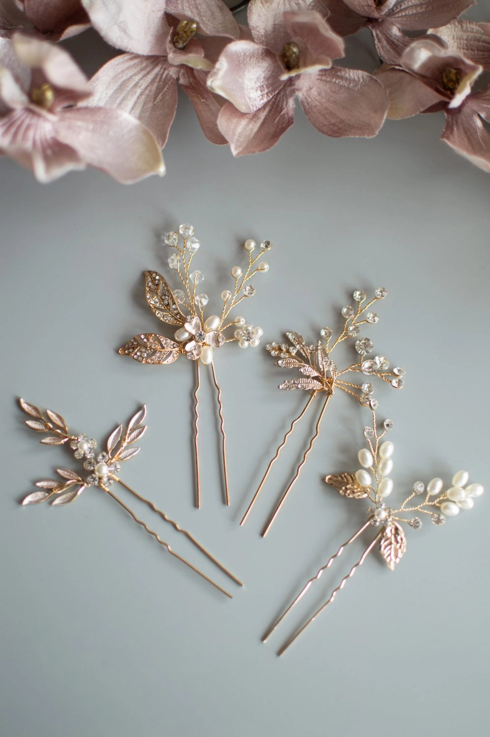 Gold bridesmaids accessories