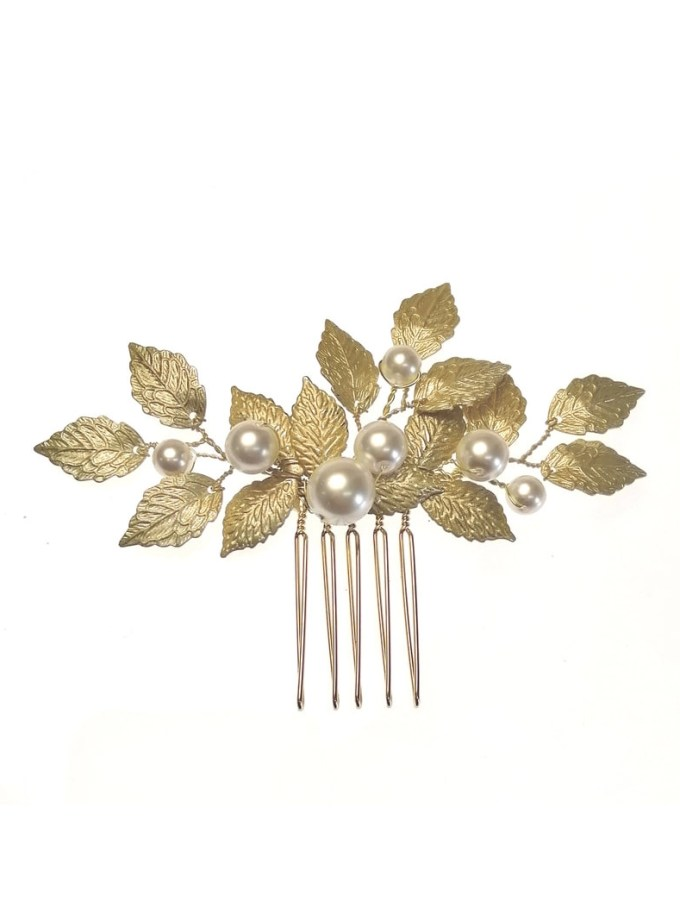 ar627 aurelia hair comb on white background