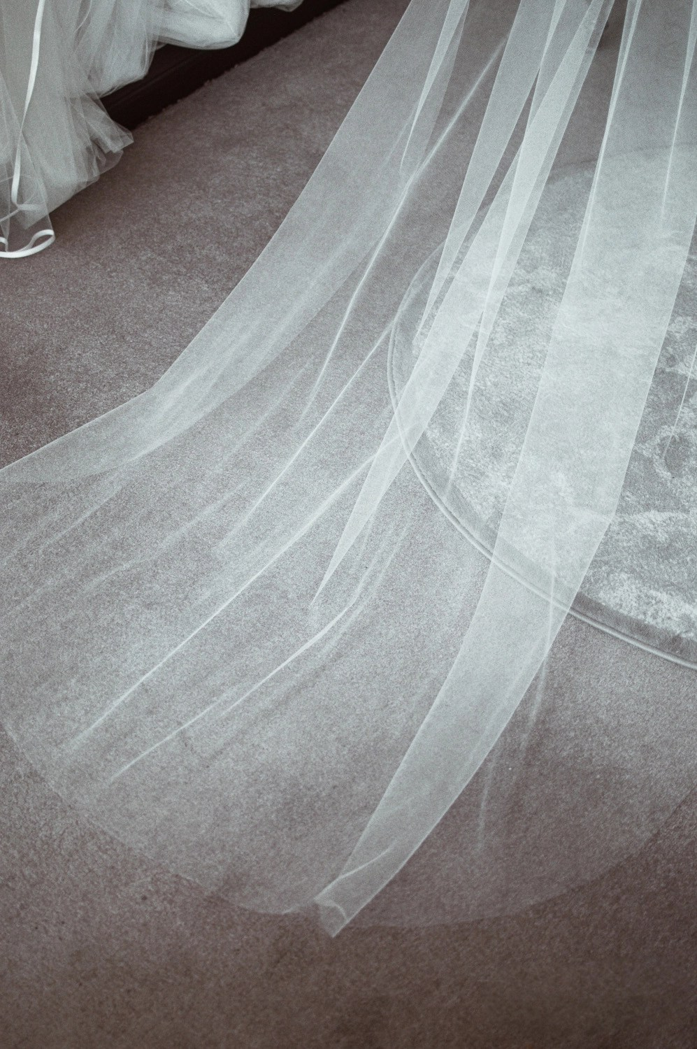 how to care for your wedding veil