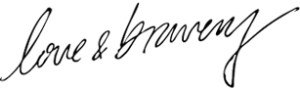 love and bravery logo
