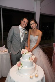 Cutting the cake at Moda Events Portside