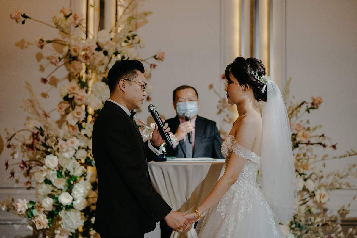 real wedding during a pandemic
