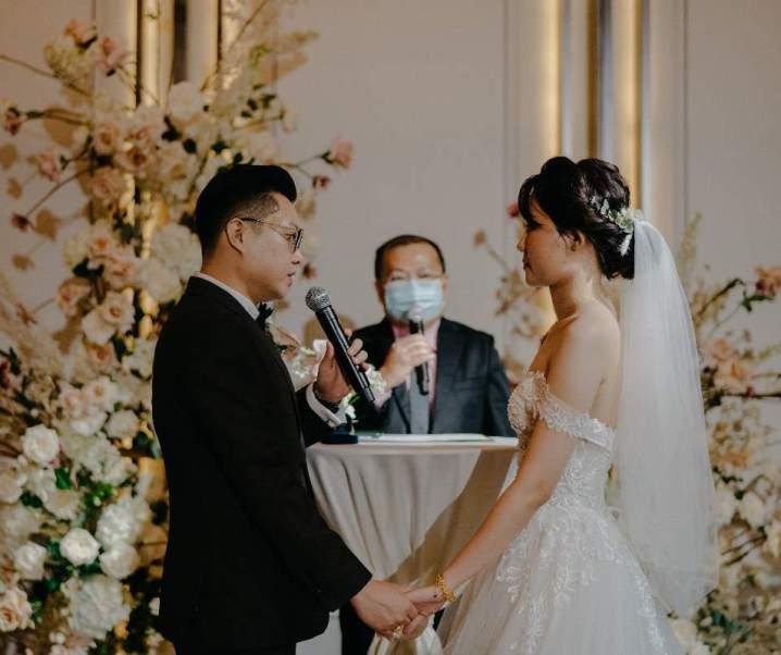 Real Wedding During a Pandemic: Leonard & Gladys