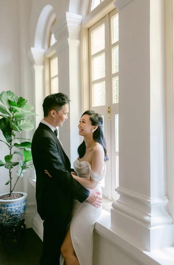 her velvet vase wedding
