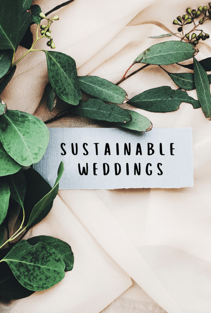 How to Have a Sustainable Wedding?