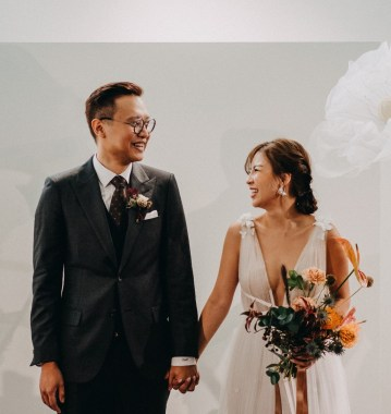 Wee Chuan and Rachel's Art Gallery Wedding at Maison Miaja