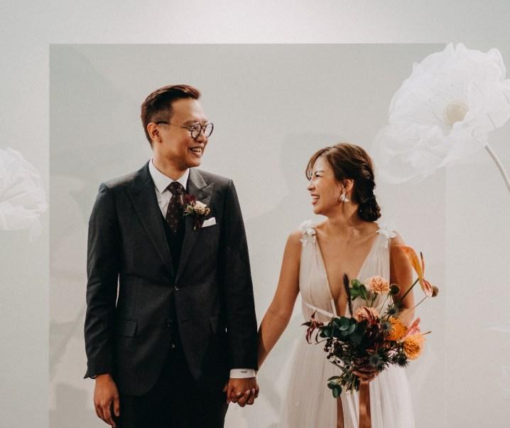 Wee Chuan and Rachel's Art Gallery Wedding at Maison Miaja