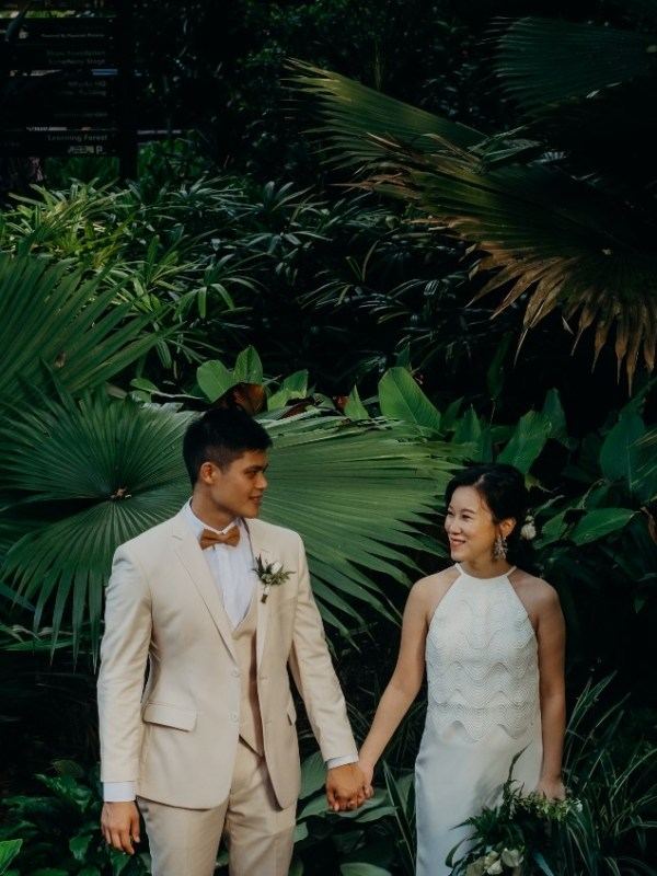 Daryl & MingTong Heartfelt Wedding at Botanico
