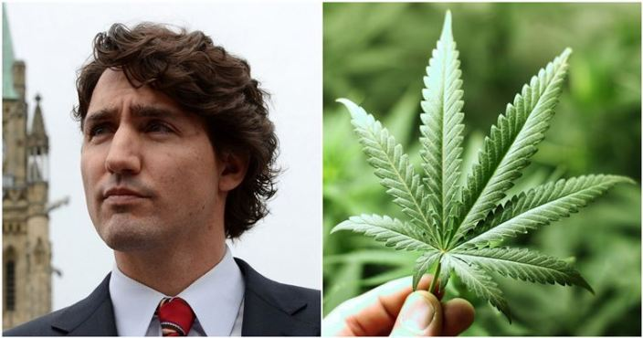 Trudeau says Government will look at pot amnesty after legalization