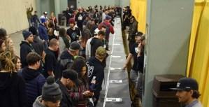 Massachusetts marijuana aficionados roll 100-foot-long joint