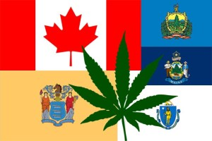 The 5 places set to legalize recreational Cannabis in 2018