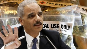 Marijuana Isn't Addictive, Former A.G. Eric Holder Says