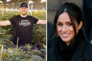 Meghan Markle's nephew selling Royal Wedding themed 'Markle Sparkle' WEED
