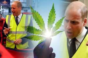 Prince William Joked About the 'Good Strong Smell' of Weed While Touring Seized Goods at Airport