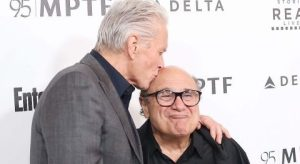 Michael Douglas and Danny DeVito bonded over weed