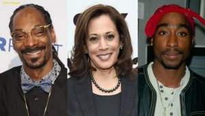 Kamala Harris says she smoked weed and listened to Snoop and Tupac years before they released albums