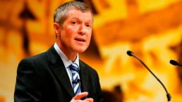 Leader of the Scottish Liberal Democrats, Willie Rennie, speaks during the Liberal Democrats annual conference in Brighton, southern England September 25, 2012. REUTERS/Luke MacGregor (BRITAIN - Tags: POLITICS)