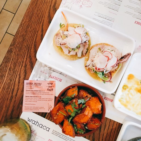 the wee food blogger© Wahaca Brighton review