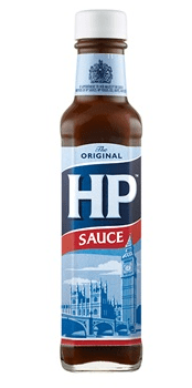 The ubiquitous British HP sauce. Image: heinz.com