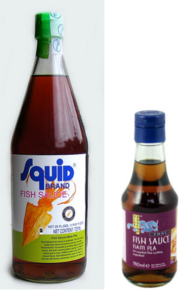 2 different brands of Nam Pla to look out for