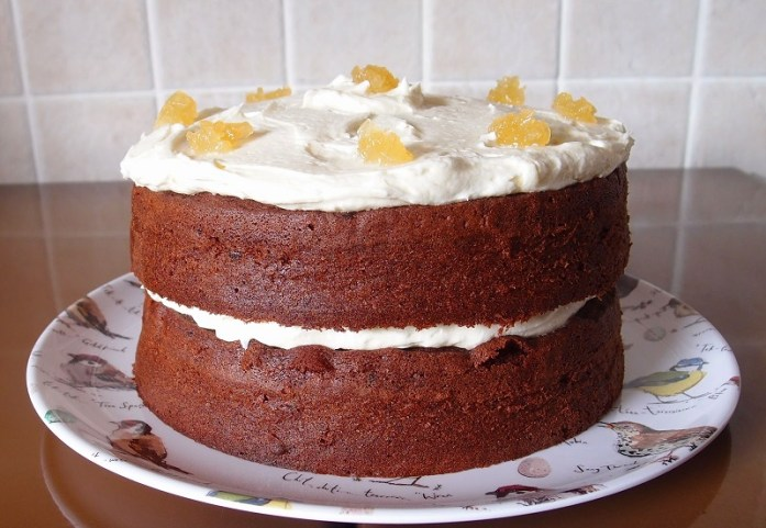 Divine Choc & Ginger Sandwich Cake. Image: The Caked Crusader